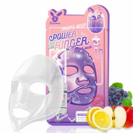 Elizavecca Fruits Deep Power Ringer Fátyolmaszk Gyümölcskivonatokkal 23ml
