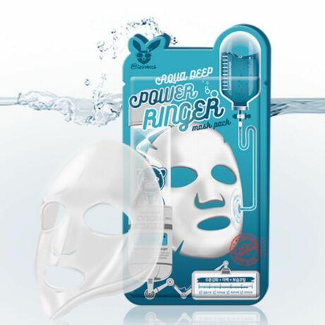 Elizavecca Aqua Deep Power Ringer Fátyolmaszk Niacinamiddal 23ml