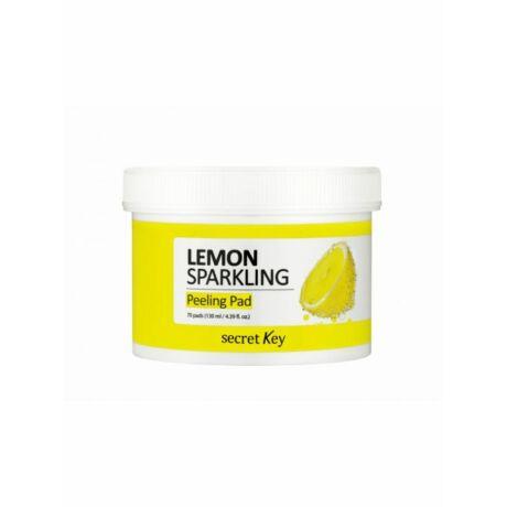 Secret Key Lemon Sparkling Hámlasztó Vattakorongok
